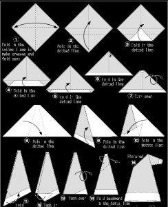 origamis faciles pour Noel dans KId'S COrNer ! bonnet-244x300